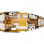 Jeanneau 439 Plan