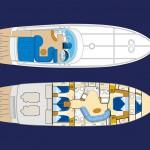 Baia Azzurra 63 Plan