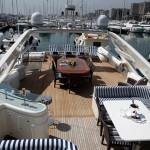 Ferretti 112 Deck