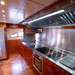 Ferretti 112 Kitchen