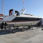 Sunseeker Thunderhawk 43 Refit: Paint