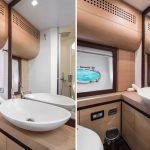 Pershing 72 Bathroom