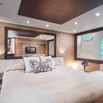 Pershing 72 Bedroom